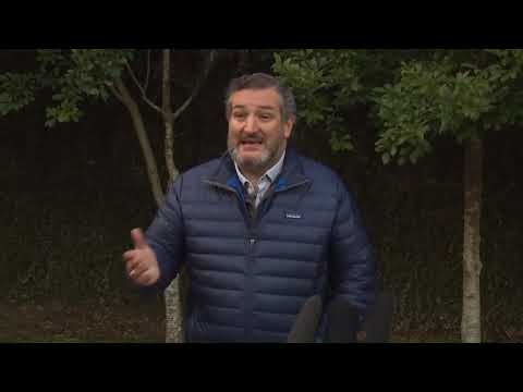 RAW VIDEO: Texas Senator Ted Cruz speaks after returning from Cancun