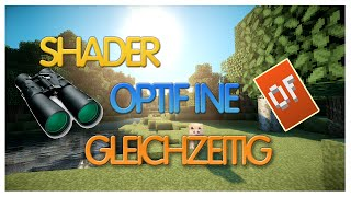 Minecraft 1.8 Optifine + Shader gleichzeitig installieren [German]