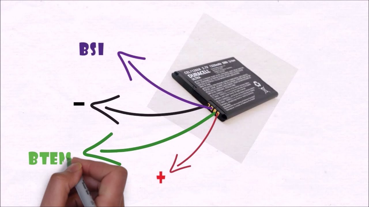 hight resolution of why your mobile phone battery have more than 2 terminals