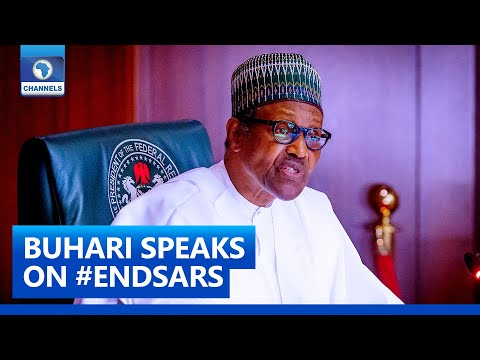 Buhari Reacts To Public Outcry, Promises 'Extensive Reform' Of Nigeria Police
