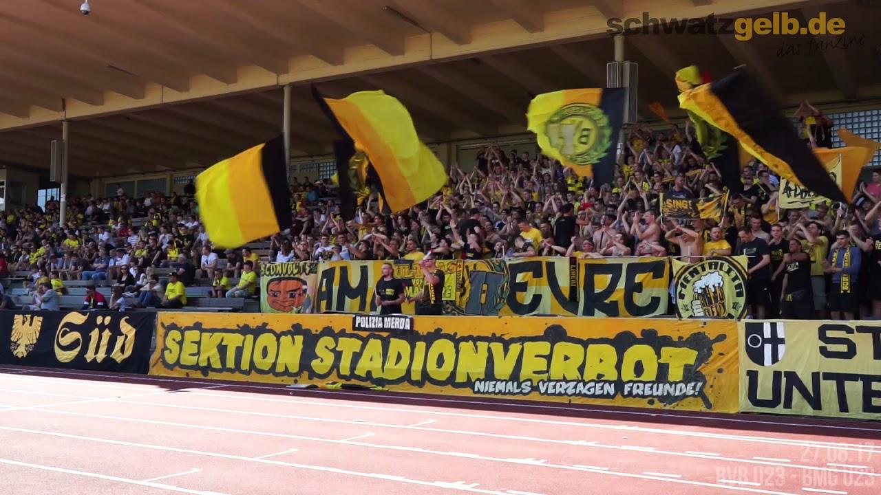 Stimmungsvideo: BVB Amateure - Borussia Mönchengladbach U23