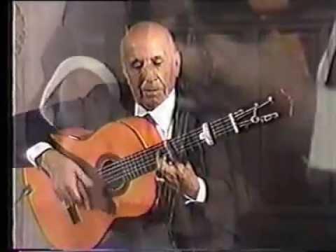 07 Rare Flamenco Guitar Video  Carlos Montoya   Farruca