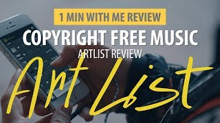 Find Music for your Videos with Artlist.... Review!