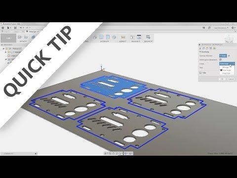 QUICK TIP: 2D Cutting Jump Start