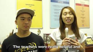 NYJC 2015 A Level exam results - an interview with Andrei and Jasmine