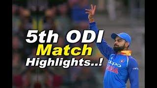 India vs South Africa 5th ODI Full HD Highlights 13 Feb 2018 - Video