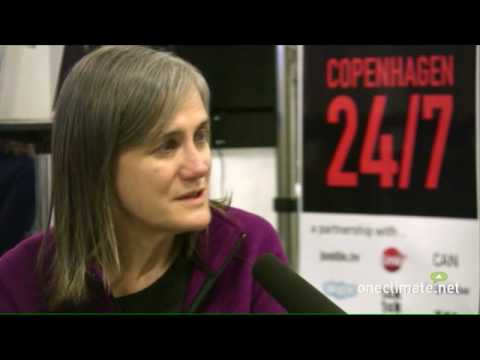 Amy Goodman of Democracy Now! talks to OneClimate at COP15 in Copenhagen - 1
