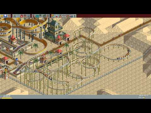 RollerCoaster Tycoon Deluxe - Pacific Pyramids (1999/2003) [WINDOWS]