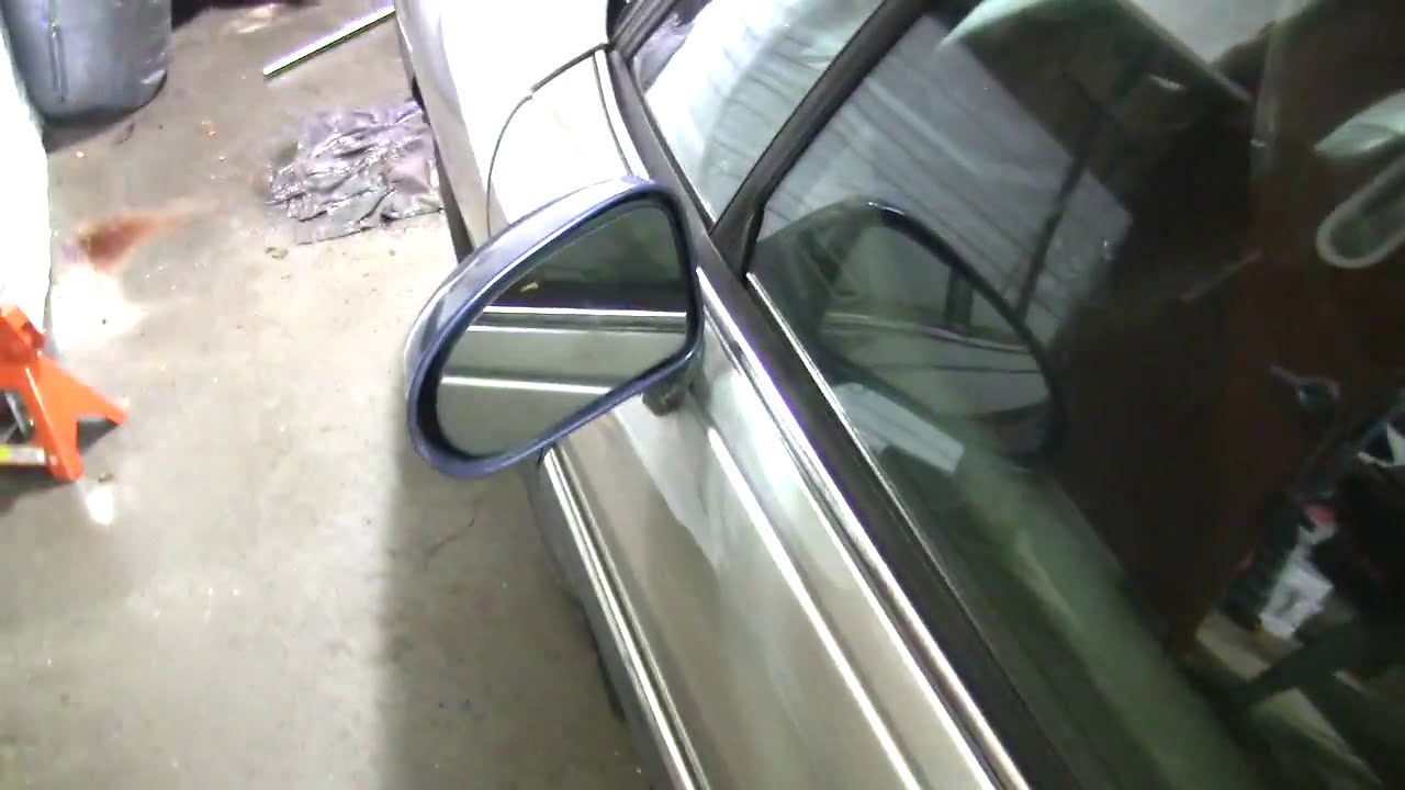 96 Lesabre Side Mirror Replacement Youtube