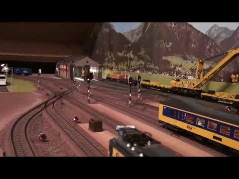 20 min Marklin modeltreinen/Marklin Modellbahn/Marklin trains