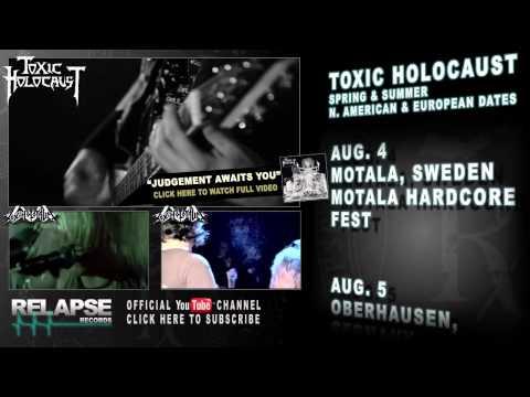 TOXIC HOLOCAUST U.S. & European Tour Teaser