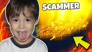 ICH DROPPE ALLE WAFFEN während ich mit SCAMMER Trade... Scammer Test 🔥 Fortnite Rette die Welt