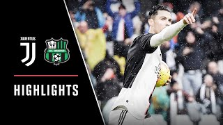 HIGHLIGHTS: Juventus vs Sassuolo - 2-2 - Ronaldo strikes again!
