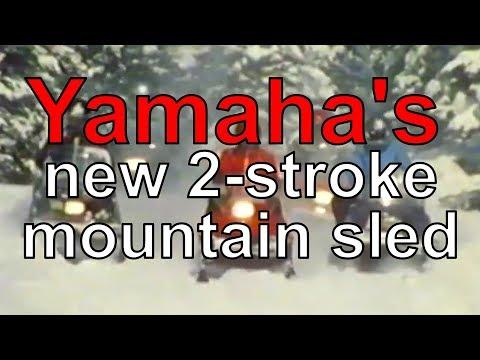 Yamaha Returns To 2-stroke Mountain Sleds. We Ride The AlphaHawk Prototype.