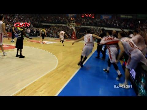Dženkins i Kuzmić za pobedu i veliko slavlje! | BC Crvena zvezda mts - Fenerbahce 75:73