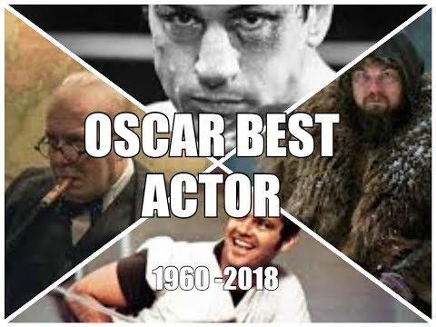 OSCAR for Best Actor (1960-2018) Academy Awards