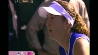 Maria Sharapova vs Shahar Peer 2008 Fed Cup Highlights