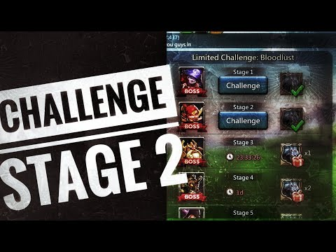Lords Mobile - Grim Wolf Limited Challenge Stage 2
