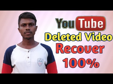 How To Recover Deleted YouTube Video | YouTube Delete Video Recovery 100% | Recovery YouTube Video