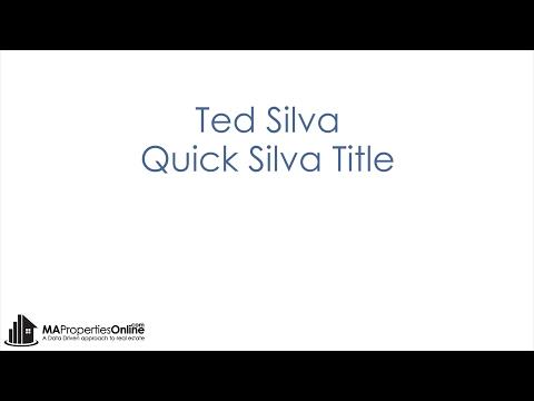 Ted Silva - Quick Silva Title