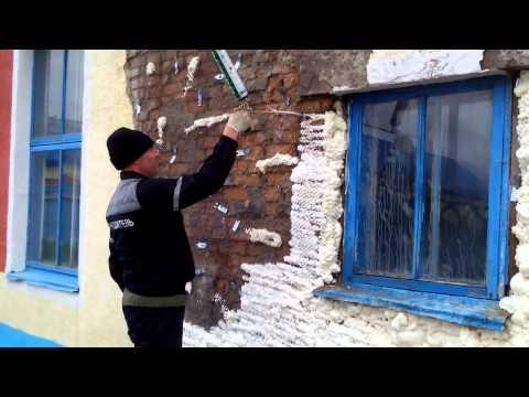 видео: ремонт кирпичной стены