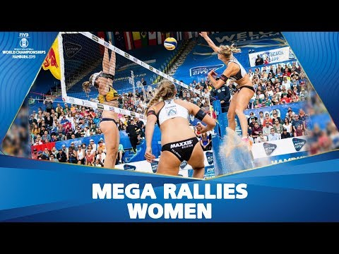 EPIC Moments of Women's Tournament | FIVB Beach Volleyball Championships Hamburg 2019