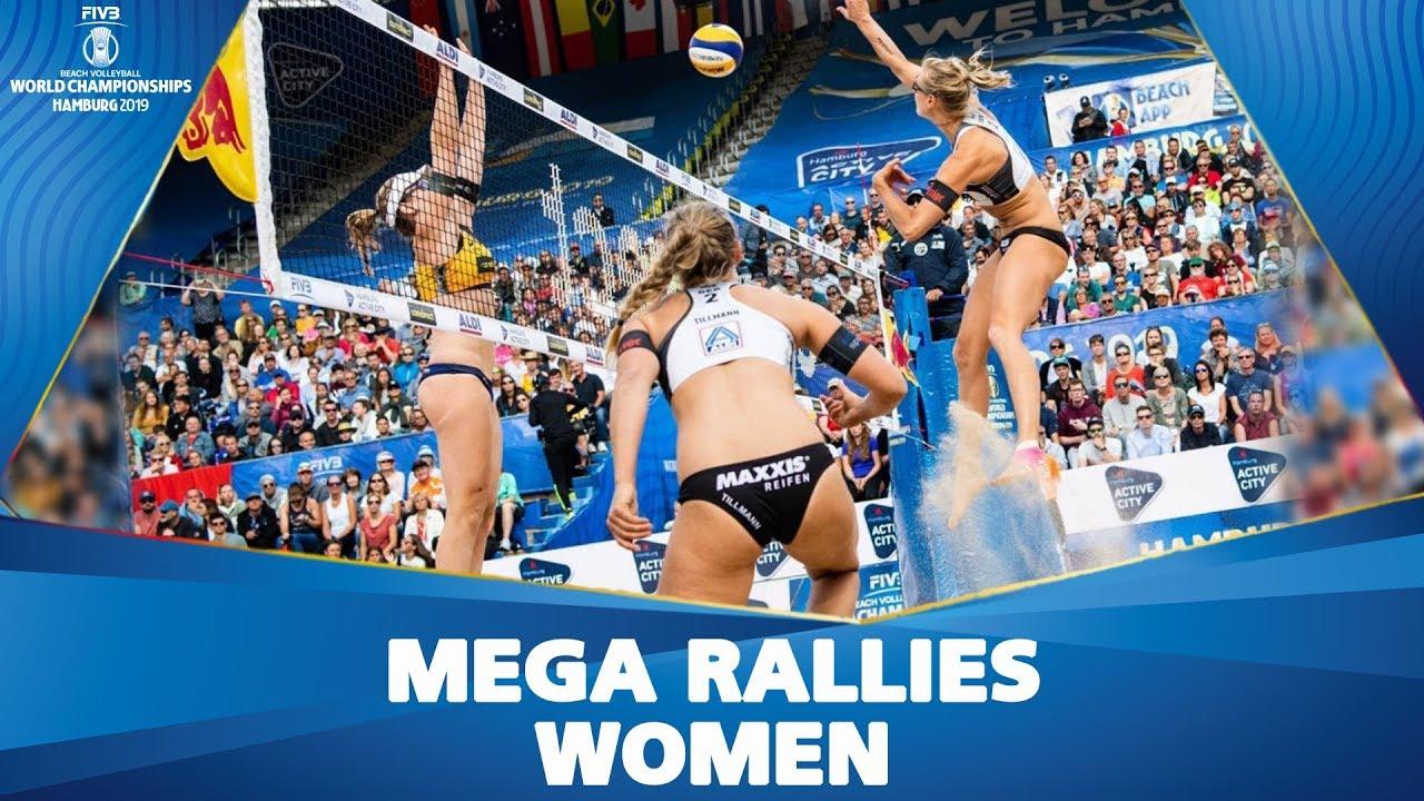 Epic Moments Of Women S Tournament Fivb Beach Volleyball Championships Hamburg 2019 Youtube