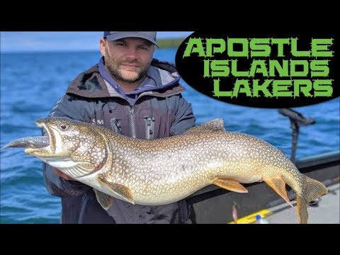 Lake Trout Fishing In The Apostle Islands