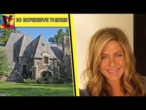 8 Expensive Things owned By American Actress Jennifer Aniston