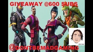 Fortnite Giveaway (600Subs)Pro CONSOLE Player 1v1s deleture,kilolicious,cawnn,imperialRhino,shinya