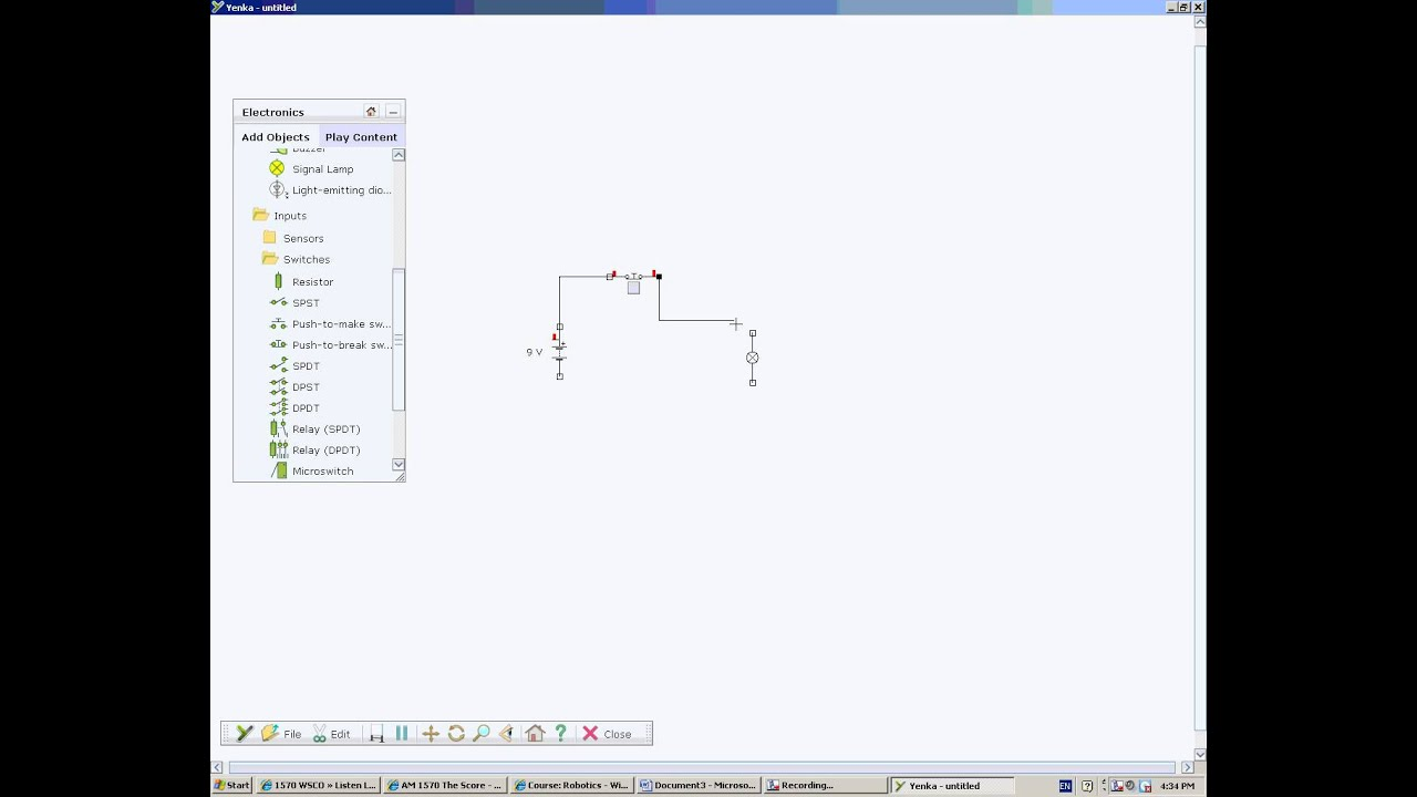 Creating Circuits with SPDT and DPDT Switches - YouTube