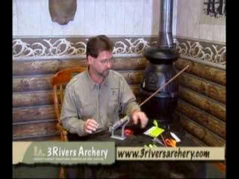 3Rivers Archery explains cap wraps & fletching arrows