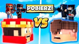 HEAD WARS vs WIDZOWIE - POBIERZ MAPĘ! - MINECRAFT HEAD WARS