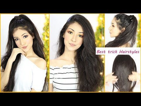 My Best Trick Hairstyles Of 2019 Hairstyle For Function | Hair Style Girl | Everyday Hairstyles thumbnail