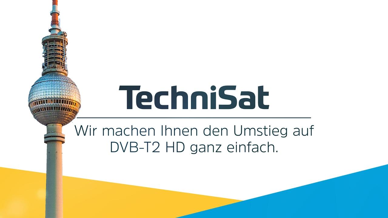 Video: DVB-T2 HD: Diese einzigartigen TechniSat Mehrwerte vereinfachen den Umstieg.