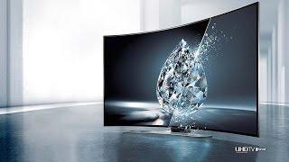 Samsung 4K Curved 3D TV Impressions!