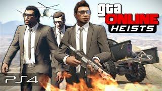 GTA 5 Online Heists - Бешеные псы! #112