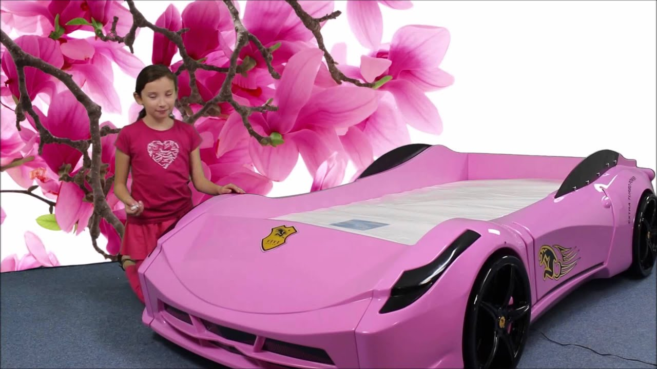 TITI CAR BED FOR GIRLS