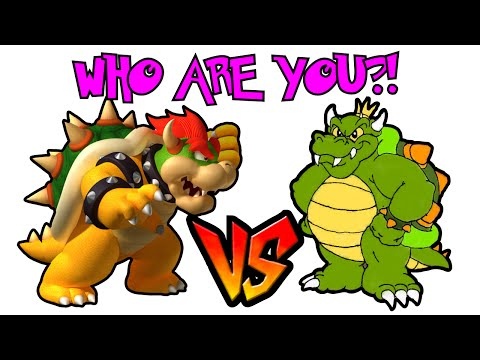 Bowser or King Koopa WHO ARE YOU?!  - The Curious Vaporeon