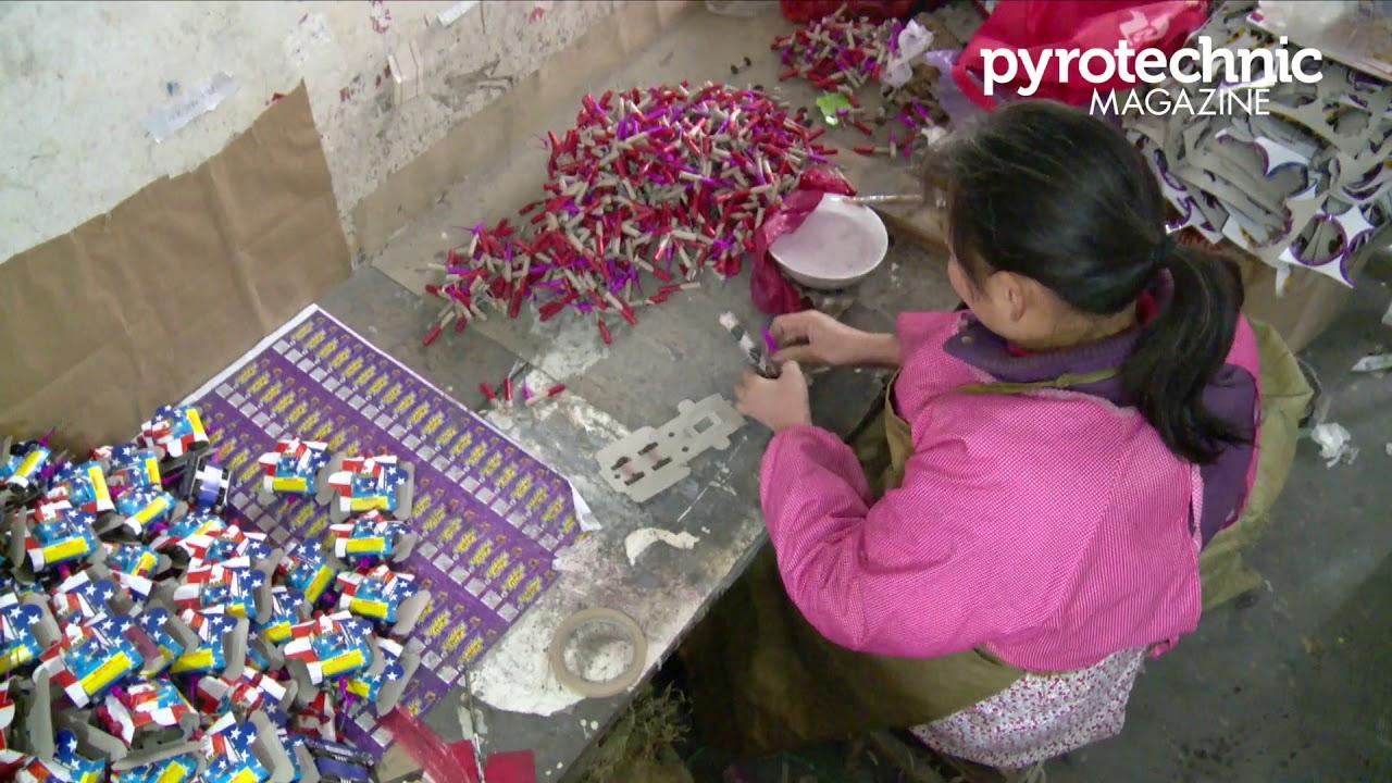 Novelty Fireworks Factory - China