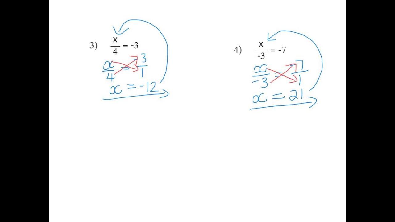 Graad 8 Algebra Vergelykings Les 3