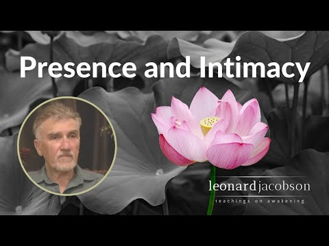 Presence and intimacy - Mt Madonna Retreat, 2011