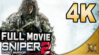 Sniper: Ghost Warrior 2 (PC) - 4K- Full Movie - Gameplay Walkthrough (SweetFX)  [2160p]