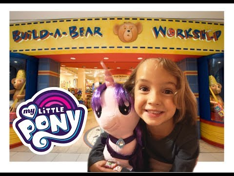 BUILD A BEAR - FIRST TIME - MY LITTLE PONY SURPRISE