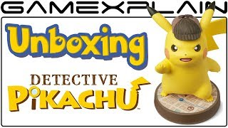 Detective Pikachu amiibo UNBOXING!  It