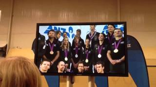stand tall anz nz olympic team welcome home