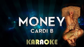 Cardi B - Money (Karaoke Instrumental)