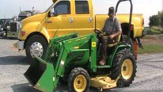 John deere 4100 Tractor 410 Loader