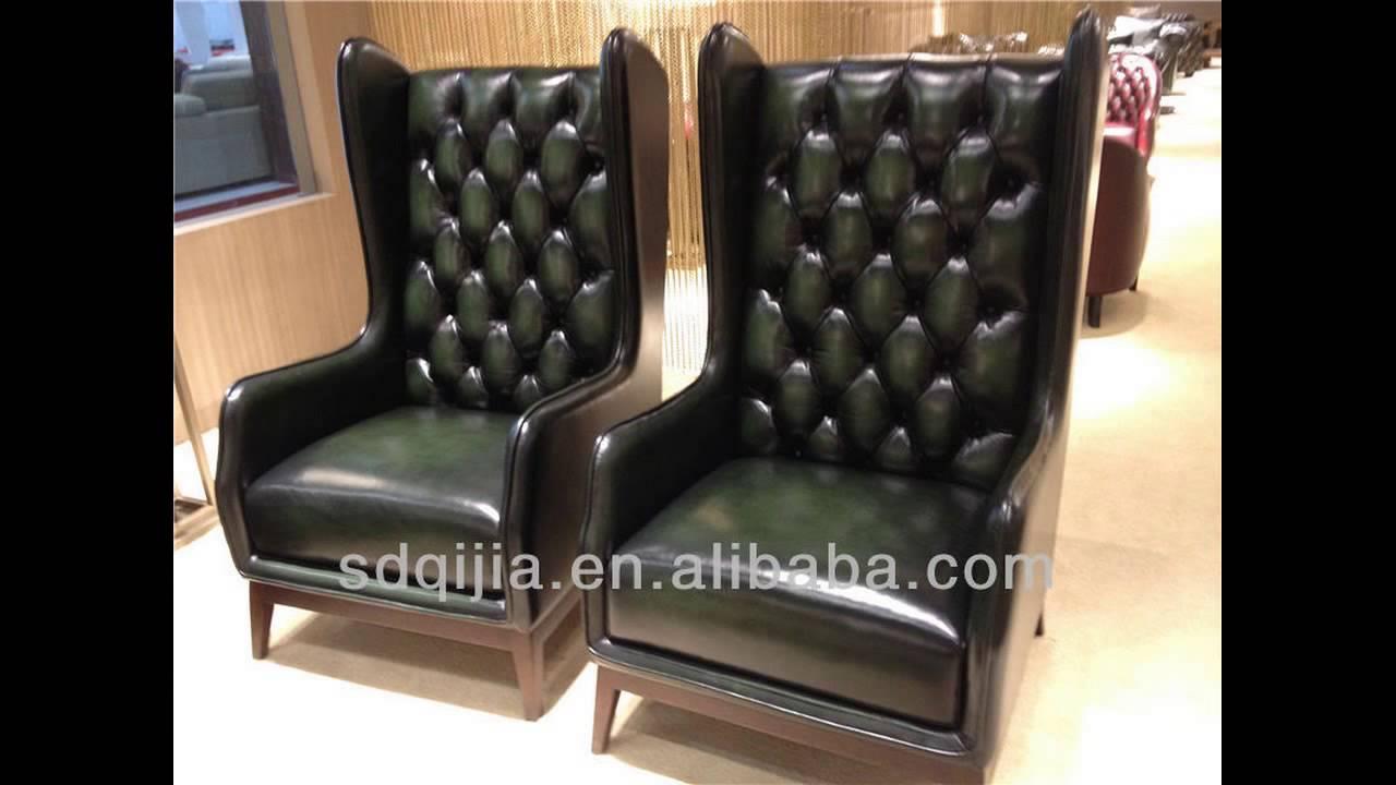 High Back Sofas Living Room Furniture - YouTube