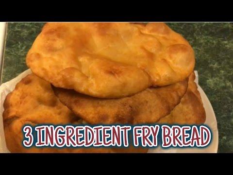 Easy three ingredient fry bread (dairy free)